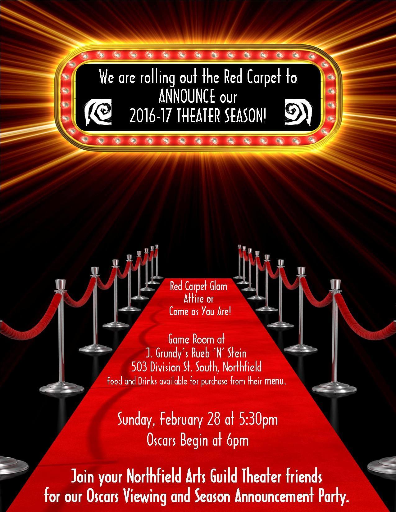Northfield Arts Guild 2016 17 Theater Season Reveal And