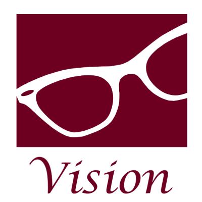 Vision eyeglasses logo