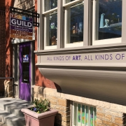 Arts Guild Theater Sign